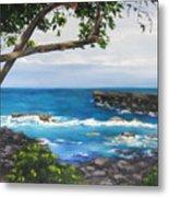 Whittington Beach Park Big Island Hawaii Metal Print