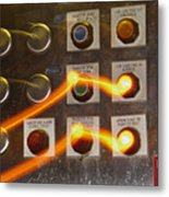 Who Is In Control Metal Print