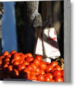 Who's Tomatoes Metal Print