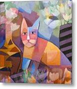Wild Cat Blues Metal Print by Lutz Baar