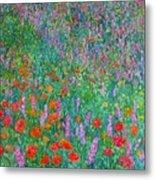 Wildflower Current Metal Print