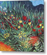Wildflower Garden 2 Metal Print