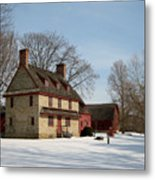 William Brinton House 1704 Metal Print