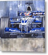 Williams Bmw Fw24 2002 Juan Pablo Montoya Metal Print