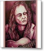 Willie The Print Metal Print