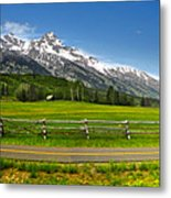 Wind River Range In West Central Wyoming - 04 Metal Print