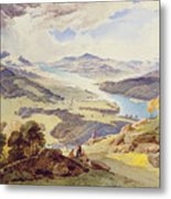 Windermere From Ormot Head Metal Print