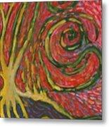 Winding IIi Metal Print