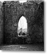 Window At Fuerty Church Roscommon Ireland Metal Print