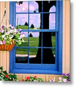 Window Metal Print