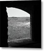 Window To The Battle Field Metal Print