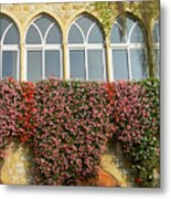 Windows In Spring Metal Print