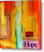 Windows Of Hope Metal Print