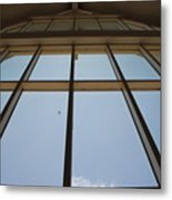 Windows Up Metal Print