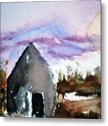 Windsong Cabin Metal Print