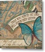 Wings Of Hope Metal Print by Debbie DeWitt