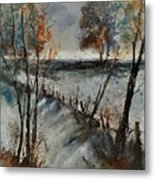 Winter 450101 Metal Print