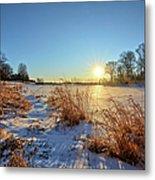 Winter At Mayne's Metal Print