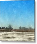 Winter Landscape 3 Metal Print