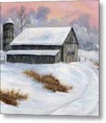 Winter Moment Metal Print