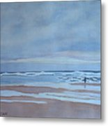 Winter Morning Solitude Metal Print