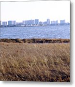 Winter Ocean City Md Metal Print