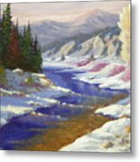 Winter Revisited  070712-97 Metal Print