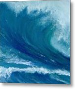 Winter Wave Metal Print