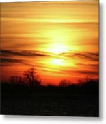 Winters Morning Metal Print