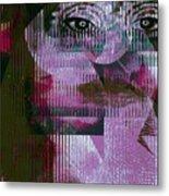 Woman - Art And Theory Metal Print