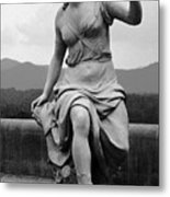 Woman Sculpture Nc Metal Print