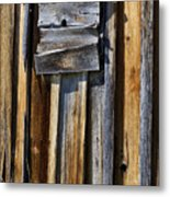 Wood On Wood Metal Print