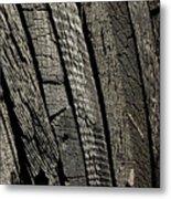 Wooden Water Wheel Metal Print