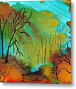 Woodland Path Metal Print