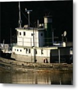 Workboat Metal Print