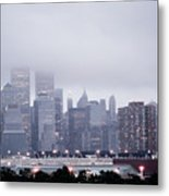 World Trade Center Photograph Last Shot Metal Print