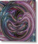 Worm Hole Metal Print