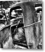Wrecking Yard Study 11 Metal Print