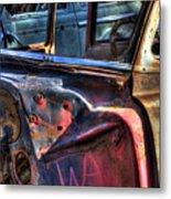 Wrecking Yard Study 6 Metal Print