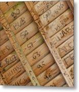 Writings On Wood Metal Print