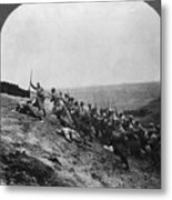 Wwi: French Attack Metal Print