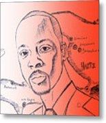 Wyclef Jean For President Of Haiti  Metal Print