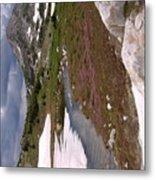 Wyoming Snow'y Range Metal Print
