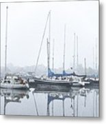 Yachting Club Metal Print
