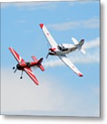 Yak 55 And Yak 18 Metal Print