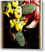 Yellow Berries Metal Print