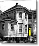 Yellow Door Metal Print