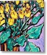 Yellow Roses Metal Print by Sheila Tajima