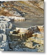 Yellowstone Mineral Features 3 Metal Print