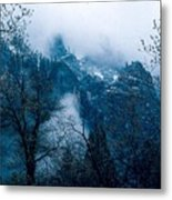 Yosemite Clouds I Metal Print